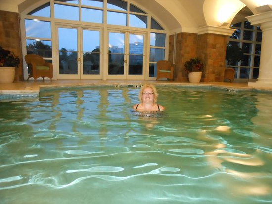 The Ballantyne Hotel and Lodge: Me enjoying the pool