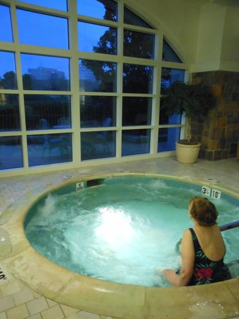 The Ballantyne Hotel and Lodge: Mom preferred the Hot tub