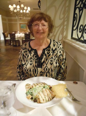 The Ballantyne Hotel and Lodge: The food was so good that we had dinner AND dessert!