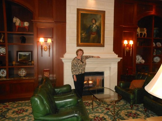 The Ballantyne Hotel and Lodge: A quiet, comfy lobby/living room area