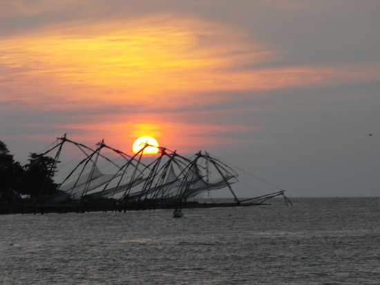 Taj Malabar Resort & Spa Cochin : Sunset cruise.