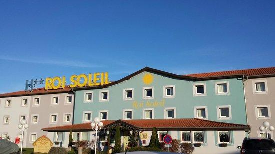 Hotel Roi Soleil Colmar : Entrada hotel