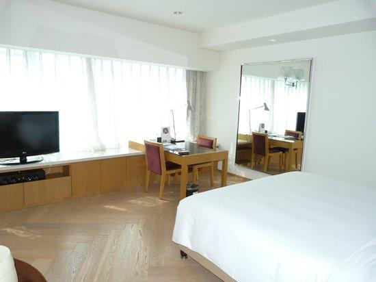 Somerset Riverview Chengdu : chambre