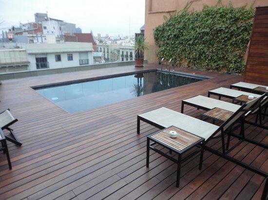 EuroPark Hotel : Terraza