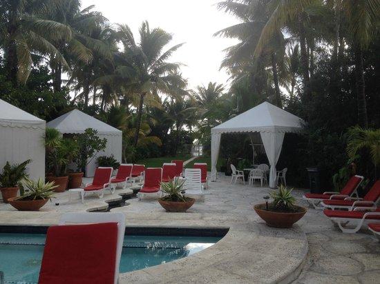 Richmond Hotel : Le chemin vers la plage