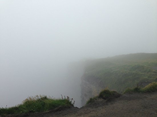 Cliffs of Moher : Мои туманные утесы