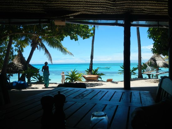 Blue Lagoon Beach Resort : View from Dining area