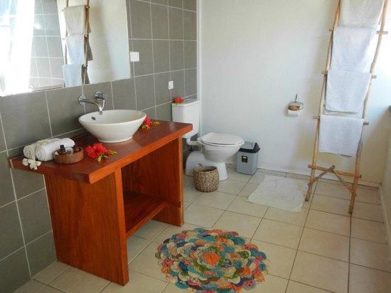 Blue Lagoon Beach Resort : Bathroom