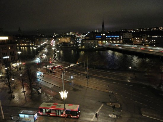 Sheraton Stockholm Hotel: View on Gamla Stan from hotel room (6th floor)