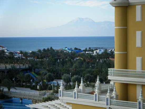Melas Lara Hotel: view from our balcony