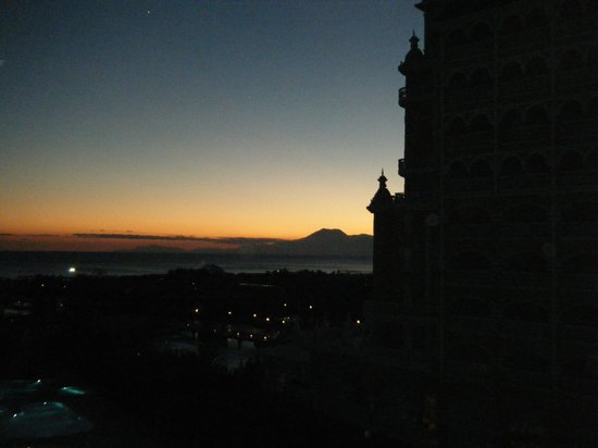 Melas Lara Hotel: Sunset view from our balcony