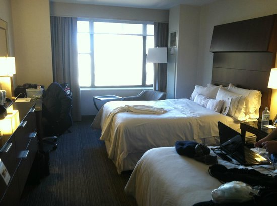 The Westin New York Grand Central : Deluxe 2 double bed room