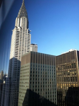 The Westin New York Grand Central : View from 3511 - to the left and slightly leaned over