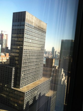 The Westin New York Grand Central: View from 3511 - to the right