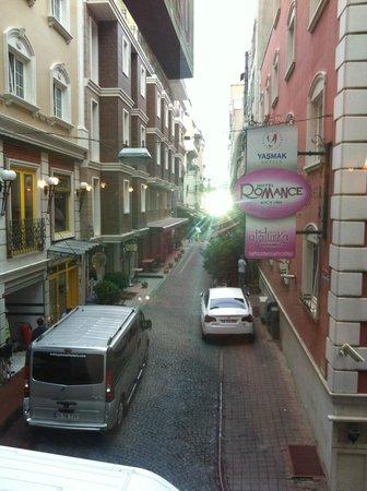 Ersu Hotel: Вид из ресторана