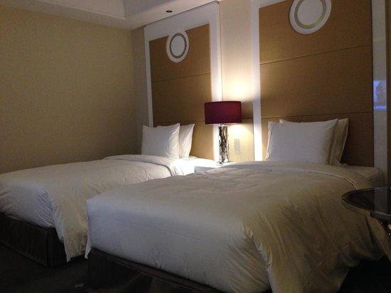 Tokyo Marriott Hotel: ベッド