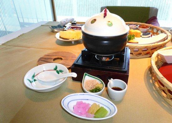 Izu Shuzenji Onsen Sora Togetsusou Kinryu: 朝食豆乳から造る豆腐
