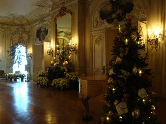 The Elms: Christmas decorations
