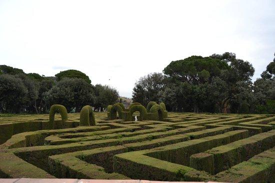 Parque del Laberinto de Horta: Сам лабиринт
