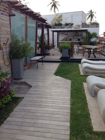 Hotel Boutique Don Pepe: roof deck - perfect for a drink