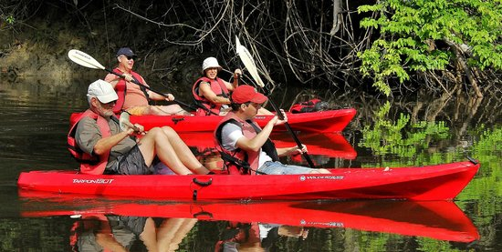Kabalebo Nature Resort: Kayaking