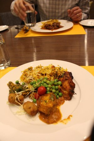 Novotel Ahmedabad: Indian and international cuisines