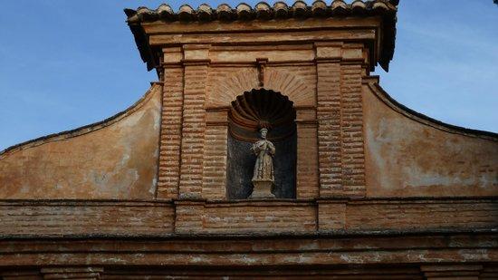 Parador de Granada: The entrance to the restaurant from outside - for non-residents