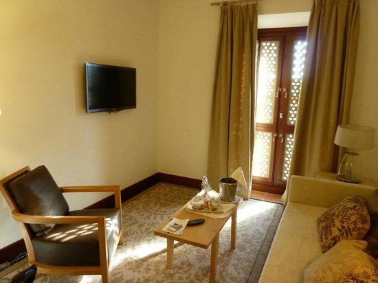 Parador de Granada: The Living Room in our Suite