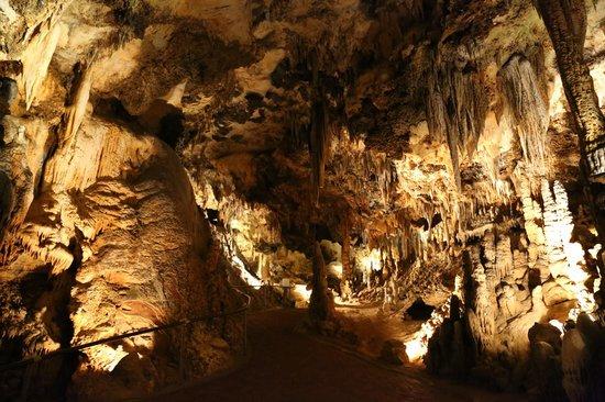 Luray Caverns: sehr hartes Gestein