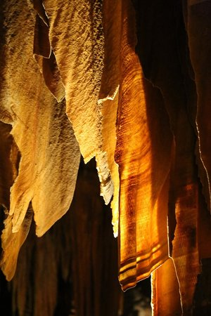Luray Caverns: duenn und doch sehr stark