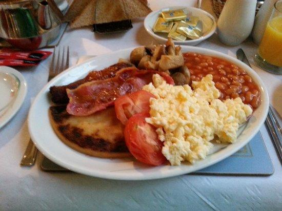 Torrs Warren Country House Hotel: Full breakfast