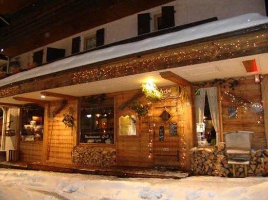 Restaurant L'Arbe: la facade
