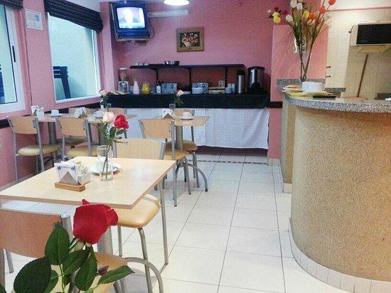 Hotel Carrara: desayunador