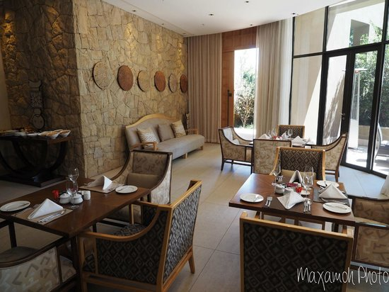 Saxon Hotel, Villas and Spa: Villa 3 Dining Area