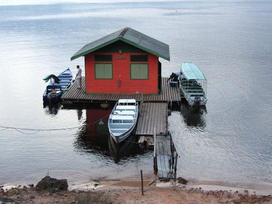 Anavilhanas Jungle Lodge: L'embarcadère d'Anavilhanas