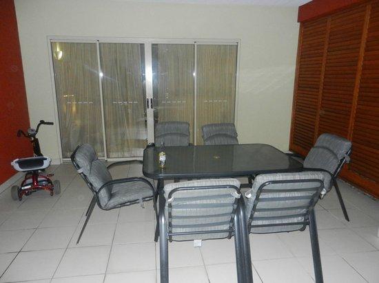 Mantra Amphora: Patio area of the apartment