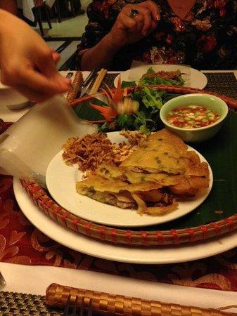Essence Restaurant: Vietnamese rolls