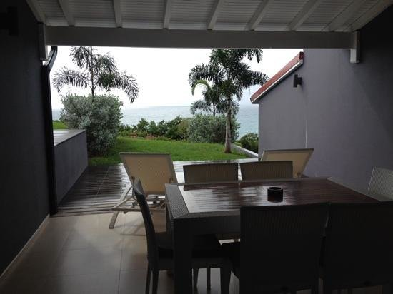 La Toubana Hotel & Spa: the terrace