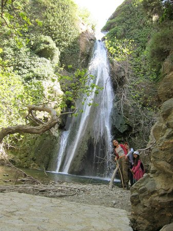 Sitia, Yunani: Richtis waterfall
