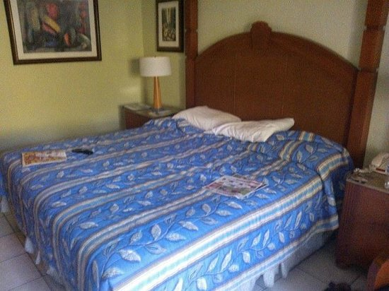 Rincon of the Seas Grand Caribbean Hotel: mi cama