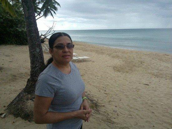 Rincon of the Seas Grand Caribbean Hotel : mi esposa