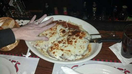 Chicken Parmesan Picture Of Carmine S Midtown New York