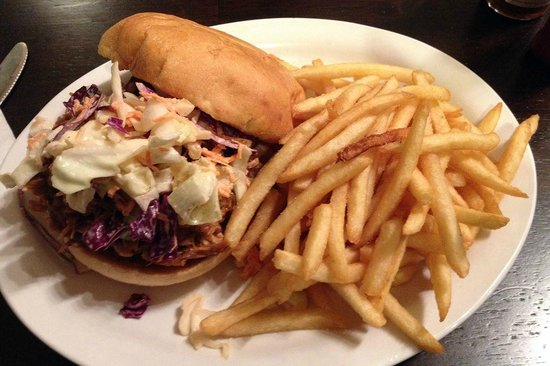 The Locals: Daily Special -- BBQ Pulled Pork Sandwich