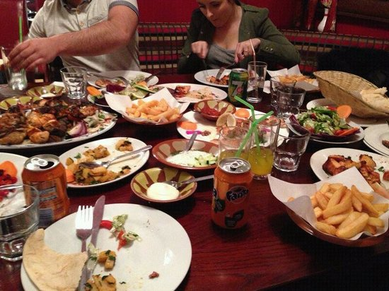 The Bake: £15 a head platter lots and lots of food nom nom nom