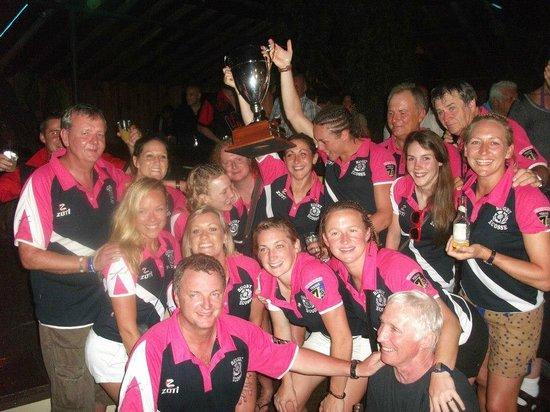 Magdalena Grand Beach & Golf Resort: Rugby Ecosse Feminin 2013