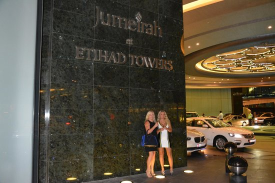 Jumeirah at Etihad Towers: Luxus pur (-;