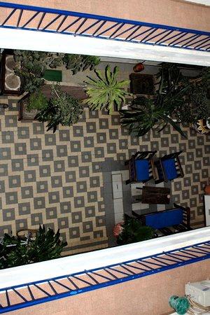Hotel La Residence: Cortile interno dall'alto