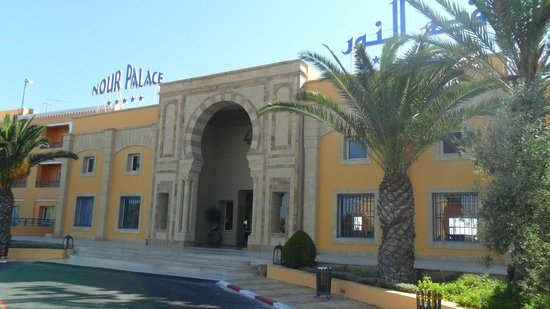 Nour Palace Resort: Центральный вход в отель