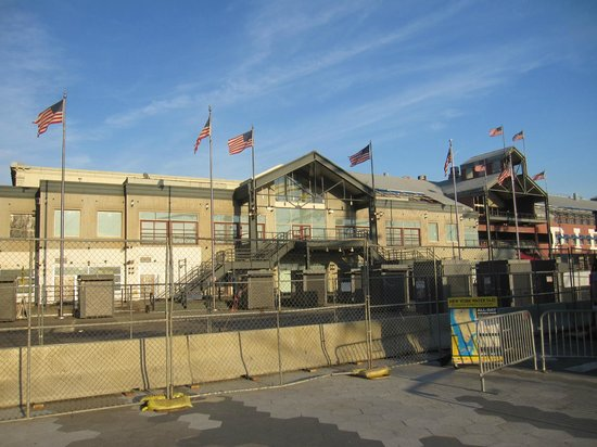 South Street Seaport: Vista exterior.