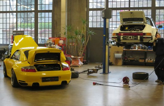 Classic Remise Dusseldorf: Workshop